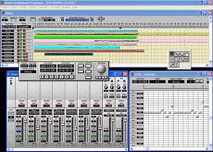 Capture d'écran du logiciel Quartz AudioMaster 4.6 fr