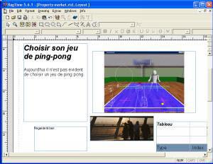 Capture d'ecran du logiciel RagTime Solo 5.6.5 fr