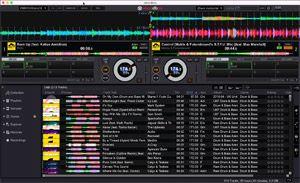 Capture d'écran du logiciel Rekordbox 5.4.0 - MacOS