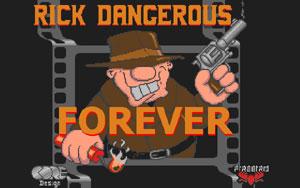 Capture d'écran du logiciel Rick Dangerous PS2 1.0 - ISO