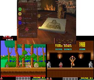 Capture d'écran du logiciel Mame Rygar Single Arcade