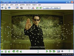 Capture d'écran du logiciel SMPlayer Portable 17.5.0 fr