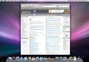 Capture d'ecran du logiciel Safari 13.1 fr - MacOS