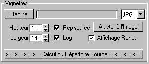 Capture d'écran du logiciel Scene Objet Catalogue 1.3 fr