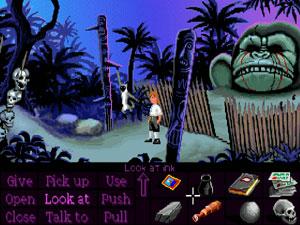 Capture d'ecran du logiciel ScummVM PS2 1.7.0