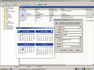 Capture d'écran du logiciel Secure Storage 5.7 fr