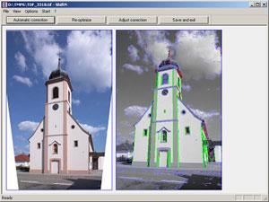 Capture d'écran du logiciel ShiftN 4.0 fr