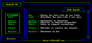 Capture d'écran du logiciel ShinoA-5 beta 5 fr