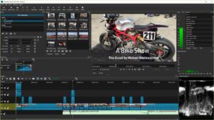 Capture d'ecran du logiciel Shotcut Portable 20.07.11 fr