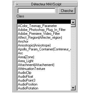 Capture d'écran du logiciel Show Class 2.1 fr
