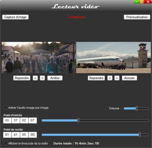 Capture d'ecran du logiciel Shutter Encoder 12.6 fr