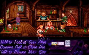Capture d'ecran du logiciel Simon the Sorcerer 1 fr