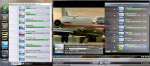 Capture d'ecran du logiciel SimpleTV 0.5.0 b5