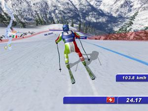 Capture d'écran du logiciel Ski Challenge 2016 fr