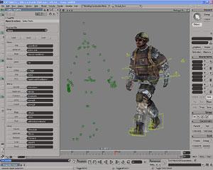 Capture d'ecran du logiciel Autodesk Softimage 2015