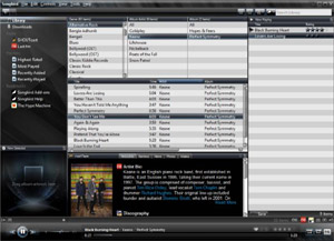 Capture d'ecran du logiciel Songbird Portable 2.2.0 Build 2453 fr