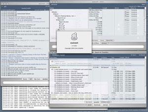Capture d'écran du logiciel SoulseeX 2016-4-24 - MacOS