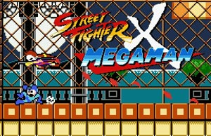 Capture d'ecran du logiciel Street Fighter X Mega Man v2