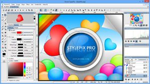 Capture d'ecran du logiciel Hornil StylePix 2.0.1.0 fr