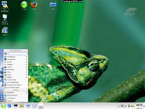 Capture d'écran du logiciel OpenSuSE Linux 13.1 - DVD i386
