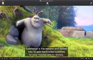 Capture d'ecran du logiciel Submerge 3.6.1 fr