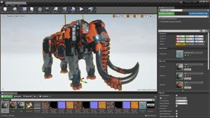 Capture d'ecran du logiciel Substance Painter 2020.6.1.2.349