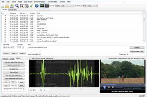 Capture d'ecran du logiciel Subtitle Edit Portable 3.5.7 fr