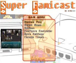 Capture d'écran du logiciel Super Famicast 2.0 - Discjuggler