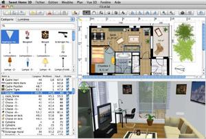sweet home 3d 5 7 fr macos t l charger logiciels netfox2. Black Bedroom Furniture Sets. Home Design Ideas