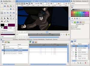 Capture d'écran du logiciel Synfing Studio 1.2.1 fr