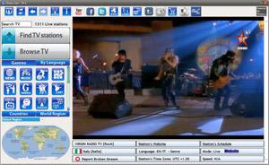 Capture d'écran du logiciel TVexe TV HD 6.0