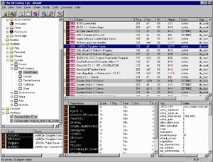 Capture d'écran du logiciel The All-Seeing Eye 2.5