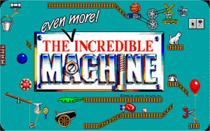 Capture d'écran du logiciel The Incredible Machine