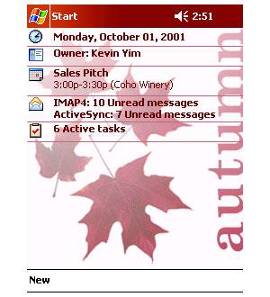 Capture d'ecran du logiciel Theme Generator 1.0