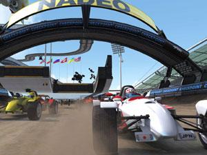 Capture d'écran du logiciel Trackmania Nations Forever