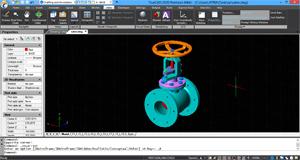 Capture d'ecran du logiciel TrueCAD 2020 9.1.441.0 fr