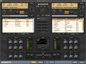 Capture d'écran du logiciel UltraMixer Free 4.1.3 RC3 - Linux