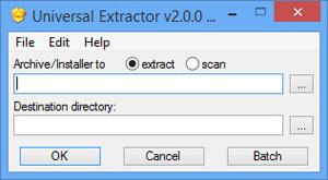 Universal Extractor 2 0 0 RC2 fr - Télécharger Logiciels - NetFox2