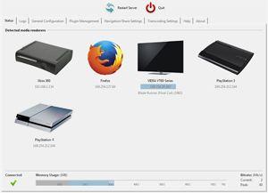 Capture d'ecran du logiciel Universal Media Server 10.0.0 fr - MacOS