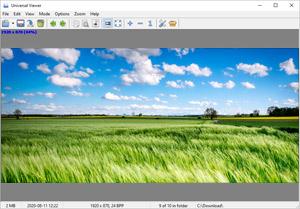 Capture d'écran du logiciel Universal Viewer Free 5.7.3.0 Fr
