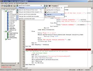 Capture d'ecran du logiciel VBS Factory 2.0 fr