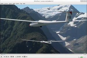 Capture d'ecran du logiciel VLC Media Player 3.0.8 fr - Linux