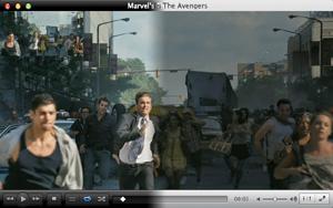 Capture d'ecran du logiciel VLC Media Player 3.0.15 fr - MacOS