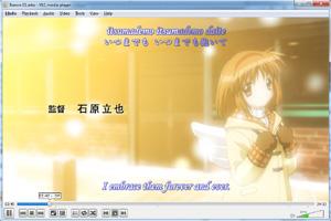 Capture d'écran du logiciel VLC Media Player 2.2.8 fr - Wi...