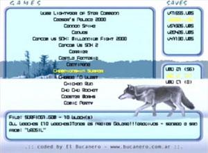 Capture d'écran du logiciel VMU Backup CD 1.3.0 - Discjuggler