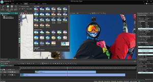 Capture d'ecran du logiciel VSDC Video Editor Edition Free 6.4.6.150 fr