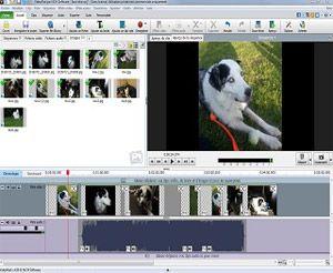 Capture d'ecran du logiciel VideoPad Video Editor 10.34