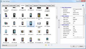 Capture d'écran du logiciel Video to Video Converter Porta...
