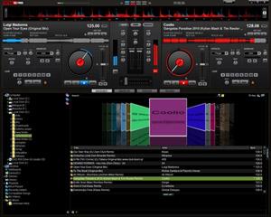 Capture d'écran du logiciel VirtualDJ Home Free 8.2.3471 f...