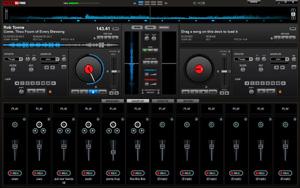 Capture d'ecran du logiciel VirtualDJ Home Free 2021 build 5980 - Windows